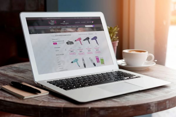 The Hair & Beauty Company Ecommerce Website Design