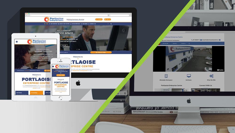 Clearcell web design Portlaoise Enterprise Centre